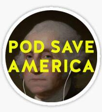 Pod Save America Sticker Sticker