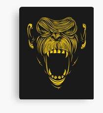 angry apes Canvas Print