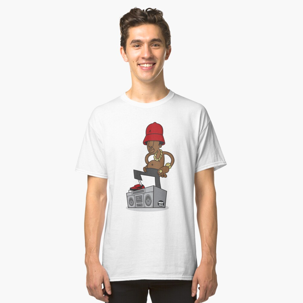 Evolution Of The B-Boy - LL Cool J Classic T-Shirt Front