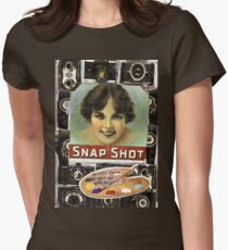 Snaphot(or The Art Of Drawing Without An Eraser) Womens Fitted T-Shirt