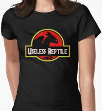 Toothless - Useless Reptile Women's Fitted T-Shirt