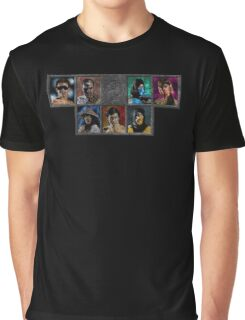 Mortal Kombat - Character Select - Dirty Graphic T-Shirt
