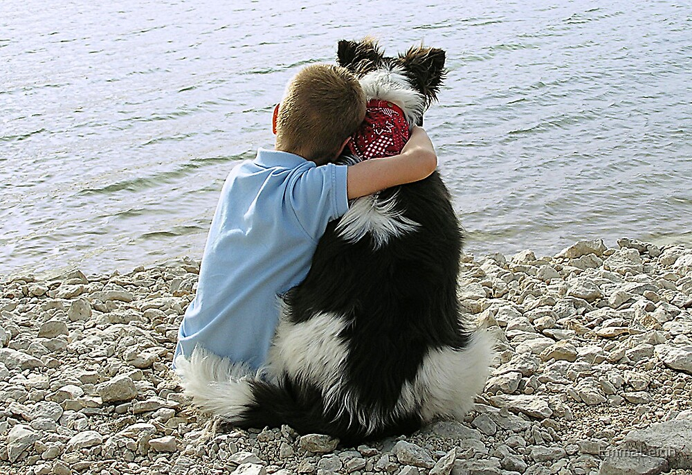 A Boy and His Dog by EmmaLeigh