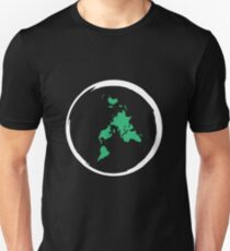 Flat Earth Map T-Shirt