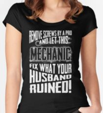 Mechanic Women's Fitted Scoop T-Shirt