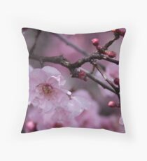 Drops of Cherry Throw Pillow