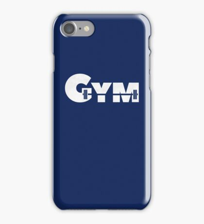 Cool Gym Bodybuilding  iPhone Case/Skin