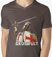 DEUS VULT Men's V-Neck T-Shirt