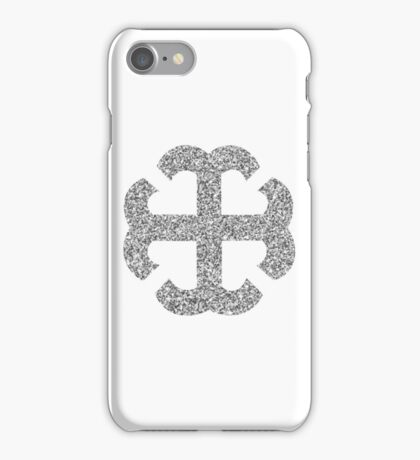 French Cross  iPhone Case/Skin