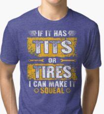 Mechanic funny tee Tri-blend T-Shirt