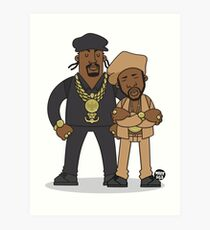 Evolution Of The B-Boy – Eric B & Rakim Art Print