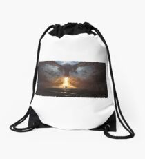 Into The Fire Drawstring Bag