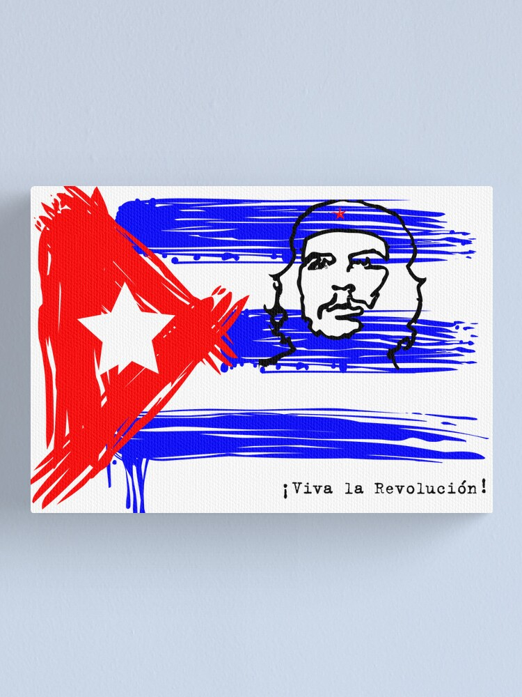 Alternate view of Viva la Revolucion! Canvas Print