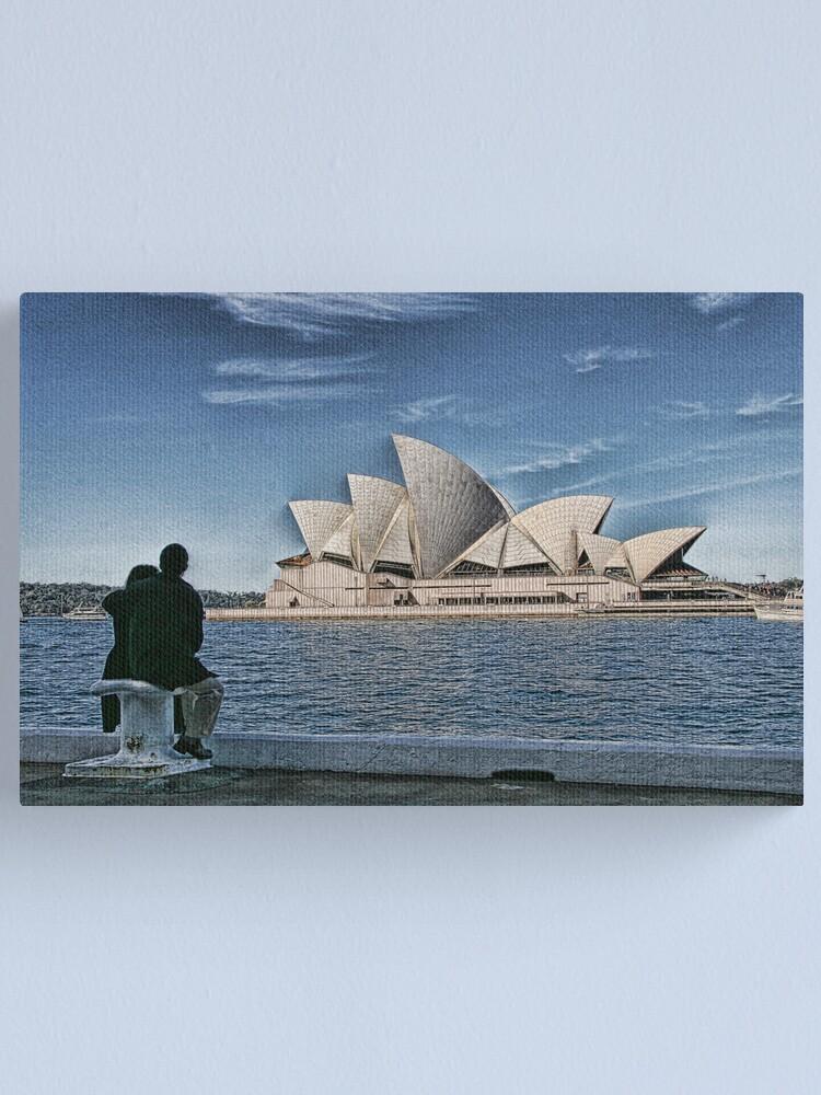 Alternate view of Sydney Opera House Canvas Print
