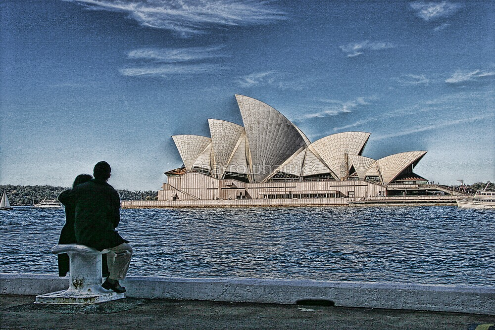 Sydney Opera House by sparrowhawk