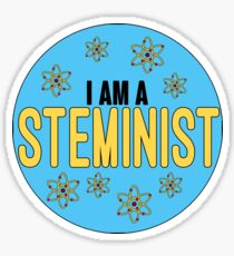 I am a Steminist Sticker
