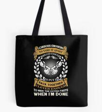 Gift for menchanic Tote Bag