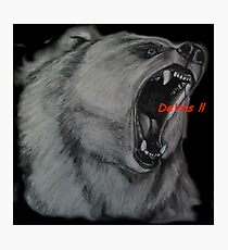 Grizzly Education Photographic Print