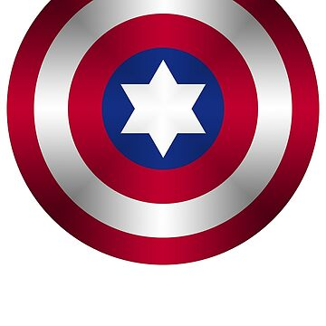 Truth & Justice (Jewish Cap Shield for DB) by mashedelephants