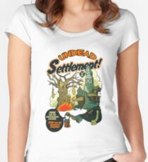Undead Settlement Women's Fitted Scoop T-Shirt