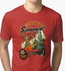 Undead Settlement Tri-blend T-Shirt