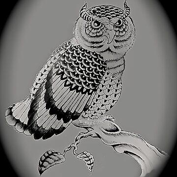 The Chubby Owl by FlannelDave