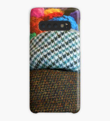 On The Shelf - Hats Reflected Hülle & Klebefolie für Samsung Galaxy