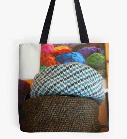 On The Shelf - Hats Reflected Tote Bag