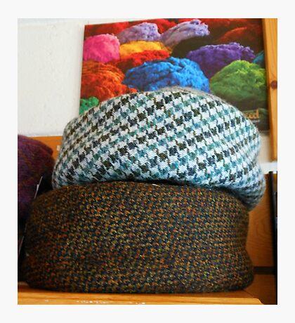 On The Shelf - Hats Reflected Fotodruck
