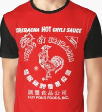 Sriracha Full Graphic T-Shirt