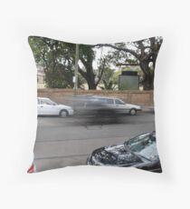 Speed Kills Throw Pillow