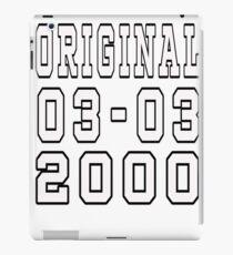 original 2000 iPad Case/Skin