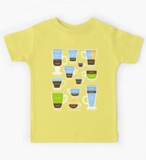 Espresso Coffee Drinks Guide Kids Clothes