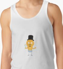 light bulb groom with flowers R4686 Tank Top