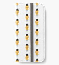 light bulb groom with flowers R4686 iPhone Wallet/Case/Skin