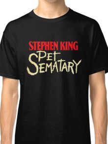 Pet Sematary - King First Edition Series Classic T-Shirt