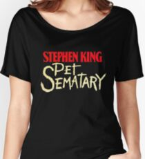 Pet Sematary - King First Edition Series Women's Relaxed Fit T-Shirt