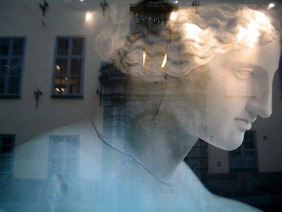 Grey Woman, Stockholm by John Douglas