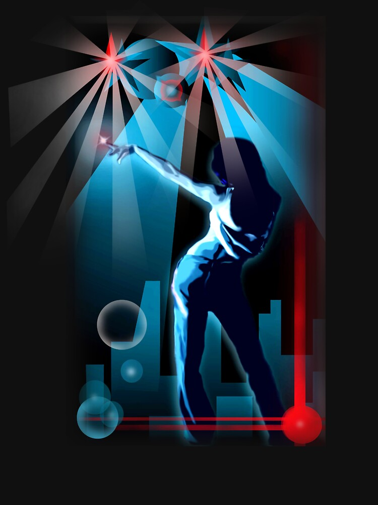 All night disco party by Cliff