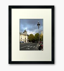 Rue Nuageux Framed Print