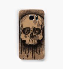 Scratchy Skull Samsung Galaxy Case/Skin