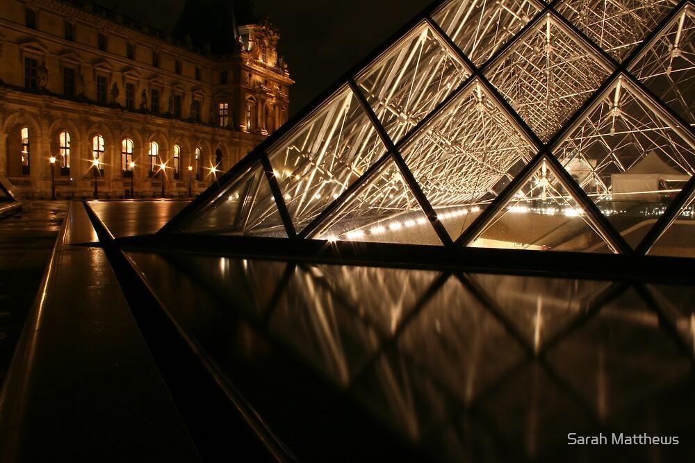 The Louvre, Low Shot by Sarah Matthews