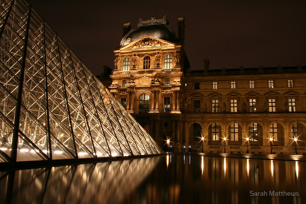 The Louvre by Sarah Matthews