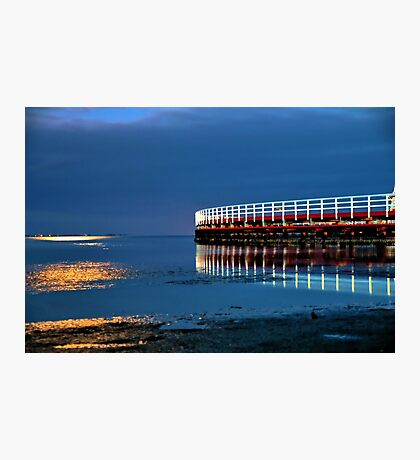 Reflections on Corio Bay. Photographic Print