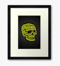For the love of Money...after Hirst Framed Print