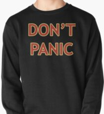 Don't Panic - Hitchhiker's Guide to the Galaxy Pullover