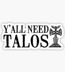 Ihr braucht Talos Sticker