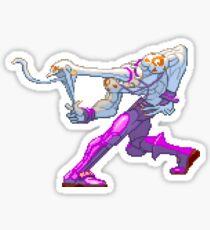 Street Fighter - Necro Taunt Sticker