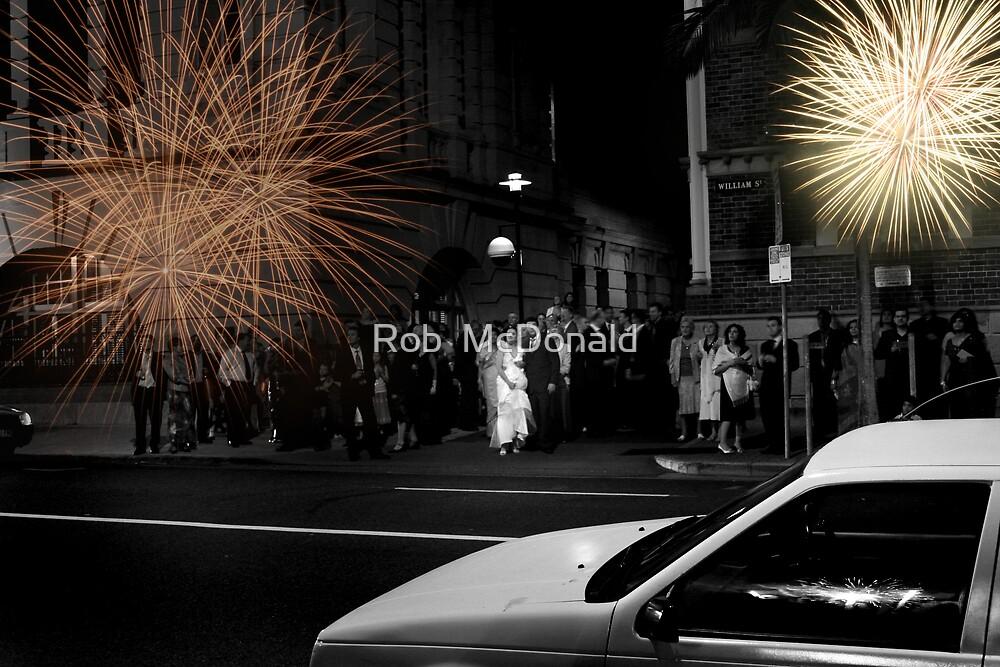 Wedding Fireworks by Rob  McDonald