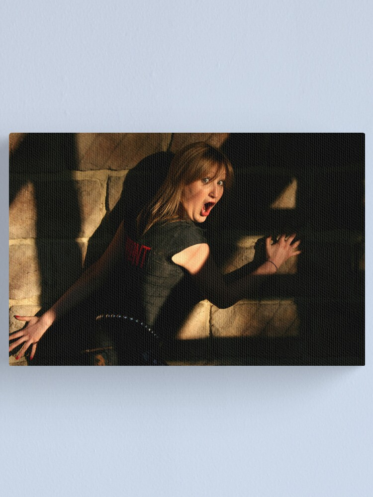 Alternate view of Fright Canvas Print